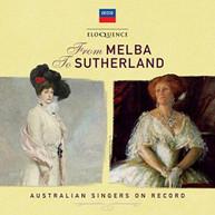 FROM MELBA TO SUTHERLAND: AUSTRALIAN SINGERS / VAR CD