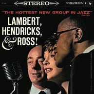 LAMBERT HENDRICKS &  ROSS - HOTTEST NEW GROUP IN JAZZ (UK) CD