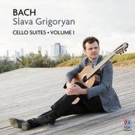 SLAVA GRIGORYAN - BACH: CELLO SUITES VOLUME I CD