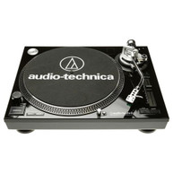 AUDIO-TECHNICA LP120 DIRECT DRIVE TURNTABLE W/USB OUTPUT & SOFTWARE - GLOSS BLACK