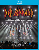 DEF LEPPARD - & THERE WILL BE A NEXT TIME: LIVE FROM DETROIT BLURAY