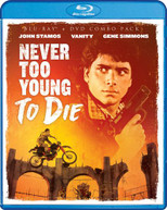 NEVER TOO YOUNG TO DIE (2PC) (+DVD) BLURAY