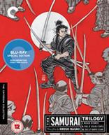 SAMURAI TRILOGY (CRITERION COLLECTION) (UK) BLU-RAY