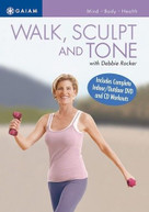 DEBBIE ROCKER - WALK SCULPT & TONE DVD