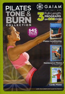 PILATES TONE & BURN COLLECTION DVD