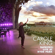 CAROLE KING - TAPESTRY: LIVE AT HYDE PARK CD