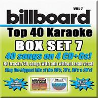 PARTY TYME KARAOKE: BILLBOARD TOP 40 BOXSET 7 / VA CD