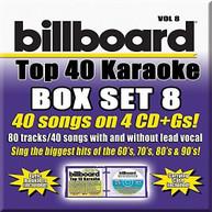 PARTY TYME KARAOKE: BILLBOARD TOP 40 BOXSET 8 / VA CD