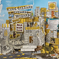 KING GIZZARD & THE LIZARD WIZARD - SKETCHES OF BRUNSWICK EAST (FEAT) CD
