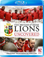 BRITISH AND IRISH LIONS 2017 LIONS UNCOVERED [UK] BLU-RAY