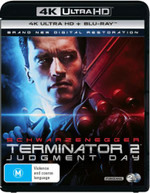 TERMINATOR 2: JUDGMENT DAY (4K UHD/BLU-RAY/UV) (1991)  [BLURAY]