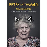 MIRIAM MARGOLYES, ADELAIDE SYMPHONY ORCHESTRA, NICK CARTER - PETER AND THE WOLF * DVD