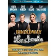 GRETA BRADMAN, LISA MCCUNE, DAVID HOBSON, TEDDY TAHU RHODES - FROM BROADWAY TO LA SCALA (CD/DVD) * CD