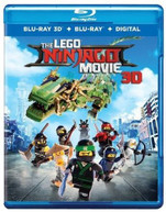 LEGO NINJAGO MOVIE BLURAY