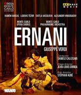 VERDI /  VARGAS / CALLEGARI - ERNANI BLURAY