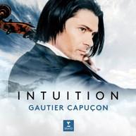 GAUTIER CAPUGON - INTUITION CD