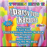 PARTY TYME KARAOKE: TWEEN HITS 12 / VARIOUS CD