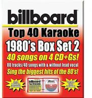 PARTY TYME KARAOKE: BILLBOARD 1980S TOP 40 / VAR CD