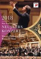 RICCARDO MUTI /  WIENER PHILHARMONIKER - NEW YEAR'S CONCERT 2018 / DVD