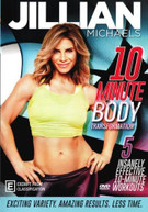 JILLIAN MICHAELS: 10 MINUTE BODY TRANSFORMATION (2017)  [DVD]