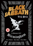 BLACK SABBATH - END: BIRMINGHAM - 4 FEBRUARY 2017 DVD
