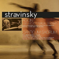 IGOR STRAVINSKY - AGON: BALLET FOR TWELVE DANCERS VINYL