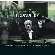 SERGEJ PROKOFIEV - PIANO CONCERTO 5 / PIANO SONATA 7 VINYL
