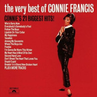 CONNIE FRANCIS - VERY BEST OF CONNIE FRANCIS VINYL