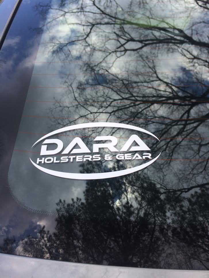 "Dara Holsters 6"" Logo Decal"