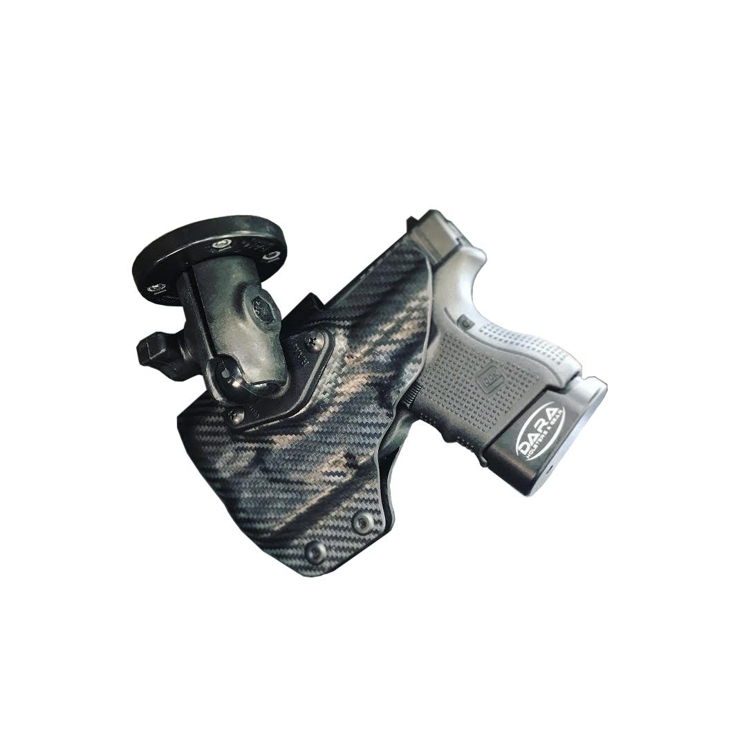 Light bearing RMR Cut RAM Mounted™ Dara Holster