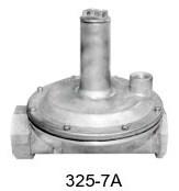 Maxitrol Gas Pressure Regulator 325-7A-1-1/2-12A49