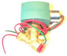 """ASCO 8030G13 3/8"""" N/C 0-15# Air / Water Brass"""