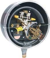 """Dwyer Instruments DA-31-153-2 0-30""""Hgvac SPDT Pres Switch Brass"""