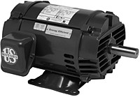 Nidec-US Motors D7P2H 200V 3PH 7.5HP 1765RPM Motor