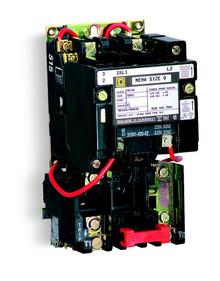 Schneider Electric (Square D) 8536SBO2S2V02 120V 18A 3P Sz0 Motor Starter