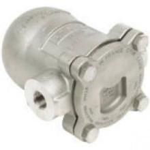 "Spirax-Sarco 66672 Float & Thermostatic Steam Trap,125 3/4""Npt, Cast Iron, Straight"