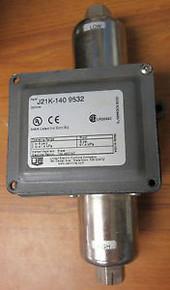 United Electric J21K-140 Spdt 0-6 Nema 4 Diff  Switch