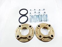 """Xylem-Bell & Gossett 101216LF 2""""Bronze Flange Set For PL75 &130"""