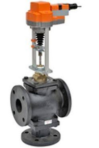 "Belimo G765 2 1/2""FLG 3-Way Mixing Valve"