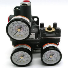 MISC Product 74SG Positioning Relay with Gauges