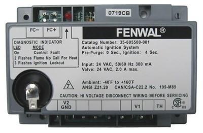 fenwal ignition module part 35 605500 001 furnacepartsource com rh furnacepartsource com fenwal ignition control module wiring diagram fenwal ignition control wiring diagram
