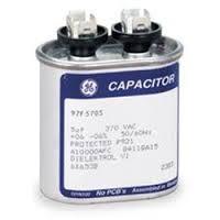 Trane # CPT0072 5MFD 370V Oval Run Capacitor