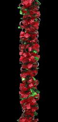 Red Green Ribbon Garland