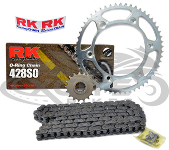 RK Chain (428) & sprockets (17/52) for Honda CBR250RR