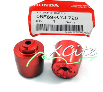 Genuine bar ends CBR250R 11/13, red - 08F69-KYJ-720