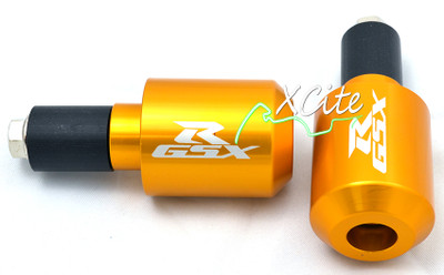Gold universal GSXR 600 750 1000 bar ends BE105GL