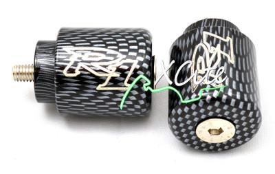 Carbon fibre looks barends bar ends YAMAHA R1 BE104CB