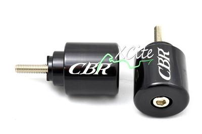 Black looks bar ends Honda CBR VFR VTR RC51 BE110BK
