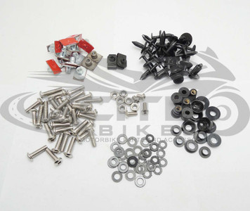 Fairing bolts kit stainless steel, Yamaha R1 2009-2014  BT122