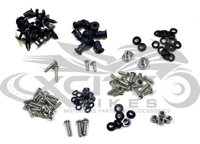 Fairing bolts kit stainless steel Kawasaki NINJA 250R 2008-2012 BT144